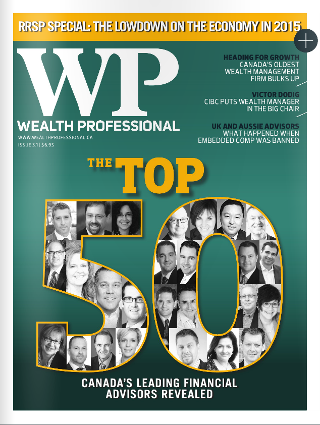 Wealth Professional Feature – Top 50