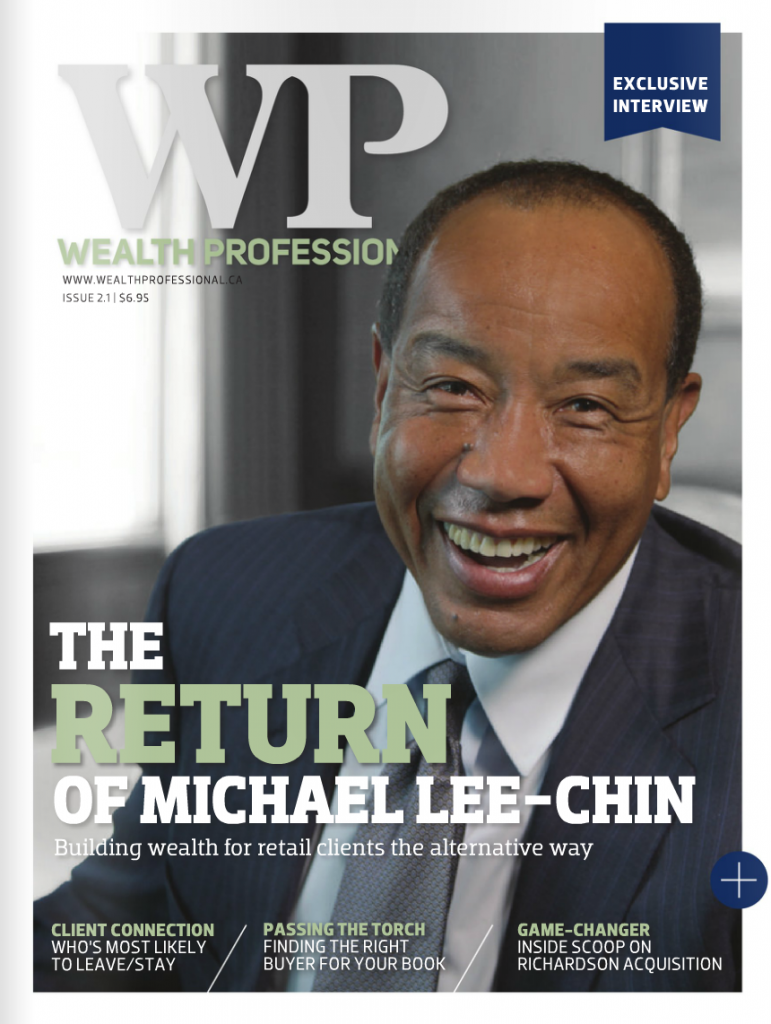 Wealth Professional Feature – Michael Lee-Chin Profile