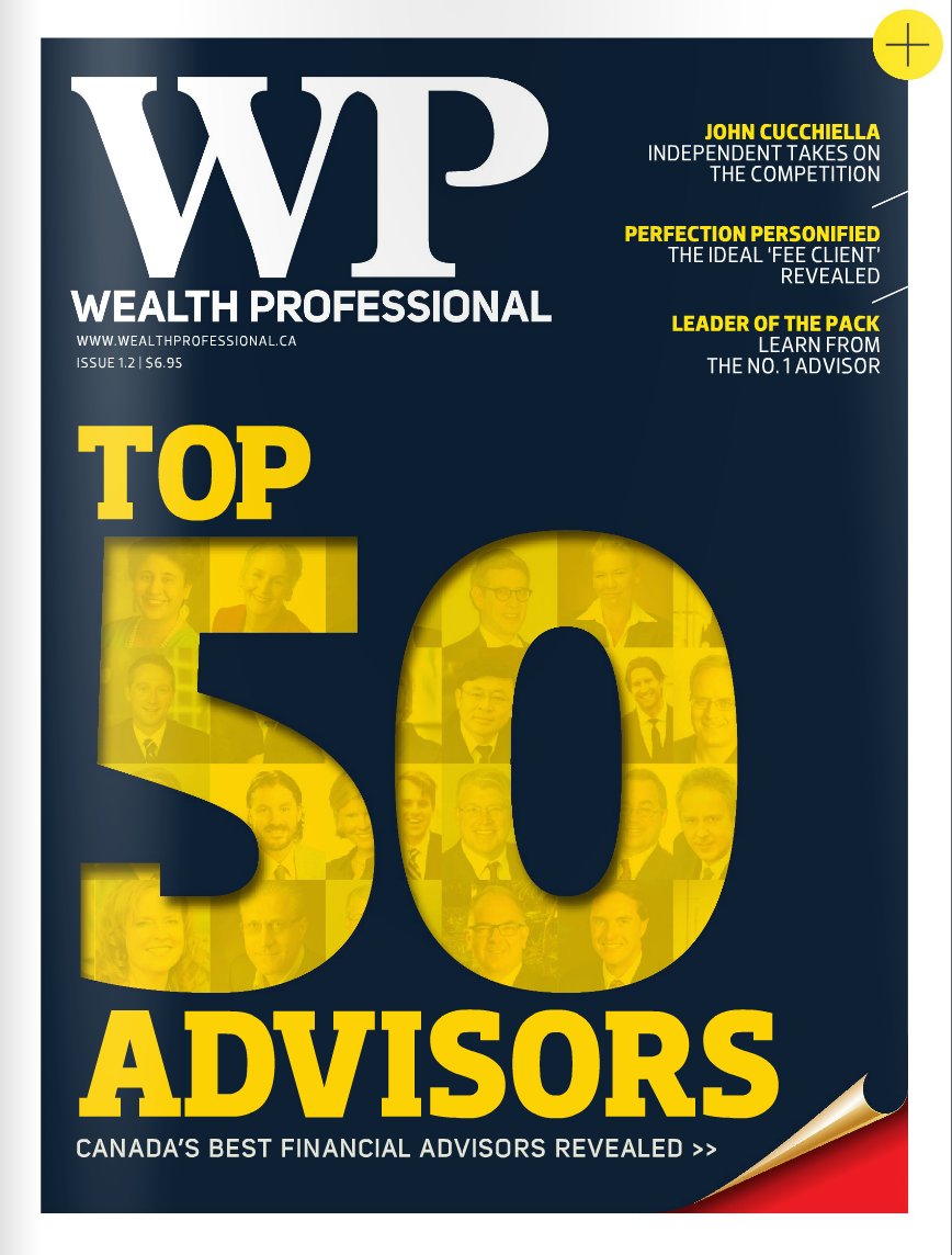Wealth Professional Feature – Top 50 2014